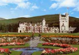 Balmoral Castle in Royal Deeside